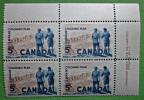 Briefmarken Kanada Canada 1961 Zusammendruck Mit Eckrand Gummiert Postfrisch Selten. - Blocks & Kleinbögen