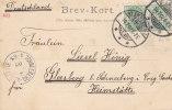 Danemark - Carte Postale Taxée De 1902 - Oblitération Klampenborg - 1864-04 (Christian IX)
