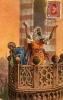EGYPT EGITTO EGYPTE AGYPTEN EGIPTO MUEDDINS PRAYING 1910 ART SIGNED - Unclassified