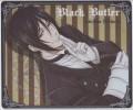 "Tapis De Souris Mousse Collector - Manga ""Black Butler - Sebastian Mirhaelis"" - Figurines"