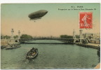 Dirigeable Sur Paris Pont Alexandre III ELD - Dirigeables