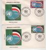 FDC  Enveloppe 1er Jour: Lot De 2  Enveloppes   Série Admission ONU 1962 - Upper Volta (1958-1984)