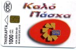 TELECARTE  DE GRECE TIRAGE 434 000 EX ...4/2000....VOIR SCANNER - Guam