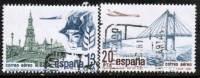 SPAIN   Scott #  C 179-80  VF USED - Poste Aérienne