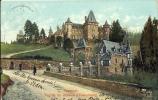 MORESNET    FACADE DU CHATEAU D' EULENBOURG   1912 - Plombières