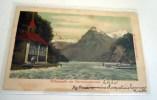 URI Tellskapelle.- Bateau à Vapeur Ca.1905,  Colorierte Karte - UR Uri