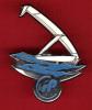 22422-pin's Bateau.voilier.signé Duseaux Paris. - Barcos