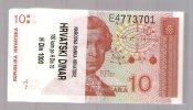 CROATIA HRVATSKA 10  Hrd DINAR  1991 .G. 100 Pics - ORIGINAL BUNDLE - Monnaies & Billets