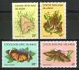 1982 Isole Cocos Farfalle Butterflies Schmetterlinge Papillons Set MNH** Te159 - Isole Cocos (Keeling)