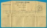 Télégramme Officiel 1939 Des Affaires étrangères Adressé à 44 Ste Sainte-Luce Sur Loire * Diplomatie - Documents Historiques