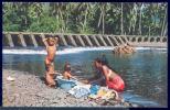 163482-Tahiti, A Typical Tahitian Scene, Mother With Children, Afo Giau No C20021 - Tahiti