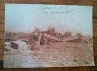 Photographie Soldats Français En Serbie 8 11 18   Armée D 'Orient Devant Un Pont Détruit - 1914-18