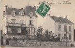 71 BRANGES Coin Du VILLAGE  La POSTE  Et  La Belle VILLA  CHARPIOT En 1912 - Non Classificati