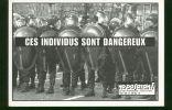 Carte Postale Noir Et Blanc / Ces Individus Sont Dangereux - NO PASARAN - Satiriques