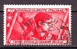 REGNO 1932 N.328  MARCIA SU ROMA  20c.  CARMINIO  USATO 1 VALORE - Neufs