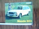 Pub Voiture Oldtimer Mazda 323 16 Pages Avec Données Techniques - Très Beau Document Commercial - Livres, BD, Revues