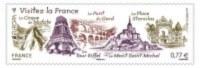 Y&T N°..... -  ANNÉE 2012 - EUROPA  Visitez La France   -  Lot De 2 - ADHÉSIF - Luchtpost