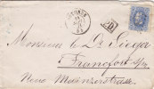 "Belgique - Lettre De 1871 - Oblitération "" Ostende "" - 1869-1883 Leopold II."
