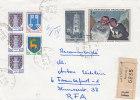 Peinture - Rodez - Armoiries  - France - Lettre Recommandée De 1968 - Oblitération La Londe Les Maures - France