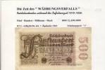 """Banknoten Während Der Inflationszeit V. 1923  500 Millionen Mark -  """"__"""" (0318) - [ 3] 1918-1933 : Weimar Republic"""