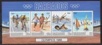 Barbades - Jeux De Séoul 1988 - Yvert N° Bloc Feuillet 25 ** - Ete 1988: Séoul