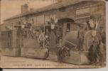 Fontenay Le Comte, Calvacade 1913, Quartier De La Gare, Inauguration Du Tram.(coins  Usés) - Fontenay Le Comte