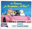 FIDO / EN VACANCES JE LES EMMENE...ET VOUS ? - Stickers