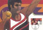 D07464 CARTE MAXIMUM CARD 1983 USA - ATHLETICS SHOT PUT - CP ORIGINAL - Athletics