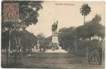 Guinée  Statue Du Gouverneur Ballay Conakry  Voyagé 1906 Timbo  Cliche Salesse - Guinée Française