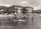 PIETRA LIGURE  -SAVONA-  BAGNI ALBERGO SARTORE VIAGGIATA 1953 BELLA FOTO D´EPOCA ORIGINALE AUTENTIQUE 100% - Savona