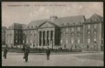 AK Saargemünd, Neues Land- Und Amtsgericht, Gel Feldpost 1916 - Lothringen