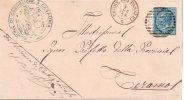 ANNULLI NUMERALI ABRUZZO - Antica Provincia Di TERAMO Torre Dei Passeri 2307 Per  Teramo - 1861-78 Vittorio Emanuele II