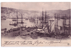 GENOVA PANORAMA PORTO F/P  VIAGGIATA 1906 - Genova (Genoa)