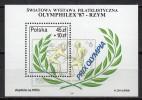 Pologne - Jeux De Séoul 1988 - Yvert N° Bloc Feuillet 114 ** - Summer 1988: Seoul