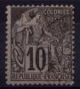 COLONIES GENERALES N° 50 Oblitéré Benty (Rivière Du Sud)  RARE - Alphee Dubois