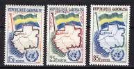 Gabon 1961, UNO - ONU - Flag - Map - Libreville **, MNH - Gabon (1960-...)