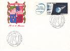 REUNION 1986 FDC COMETE DE HALLEY - Réunion (1852-1975)