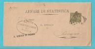 STORIA POSTALE PIEGO DA PADOVA PER PRESSANA VERONA DEL 26-8-1894 - 1861-78 Vittorio Emanuele II