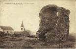 23k - 48 - Chateauneuf-de-Randon - Lozère - Tour Des Anglais - Vue Sur L'Eglise - Chateauneuf De Randon