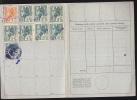 $-328- Libretto INPS Periodo Fascista Con 9 Marche - Istituto Nazionale Fascista Previdenza Sociale - 1900-44 Vittorio Emanuele III