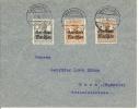 Brief Gen.-Goun. Warschau In Die Schweiz - Besetzungen 1938-45