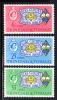 Trinidad & Tobago MNH Scott #113-#115 50th Anniversary Of Girl Guides In Trinidad & Tobago - Trinité & Tobago (1962-...)