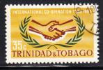 Trinidad & Tobago Used Scott #117 International Cooperation Year - Trinité & Tobago (1962-...)