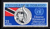 Trinidad & Tobago MNH Scott #118 25c Eleanor Roosevelt - Trinité & Tobago (1962-...)