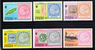 Trinidad & Tobago MNH Scott #312-#317 Centenary Of Tobago's Postage Stamps - Trinité & Tobago (1962-...)