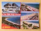 Dep 44 , Cpm La BAULE , 145 , 5 Vues , La Plus Belle Plage De L'Europe Et L'hotel De Ville (246) - La Baule-Escoublac