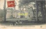 Dépt 29, Environs De St Pol De Léon, Cp Pionnière Des Ruines Du Chateau De Kergornadech, Cliché Peu Courant - France