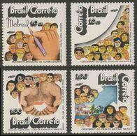 """Brazil Brasil 1972 Mi 1346 YT 1022 ** """"Mobral"""" Literacy Campaign / Brasilianische Alphabetisierungsbewegung - Andere"""