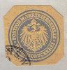 Verschlußmarke:  Reichsdruckerei Postform Vertriebsstelle - Alemania