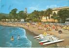 Italy, Diano Marina, Spiaggia, 1971 Used Postcard [P9694] - Imperia